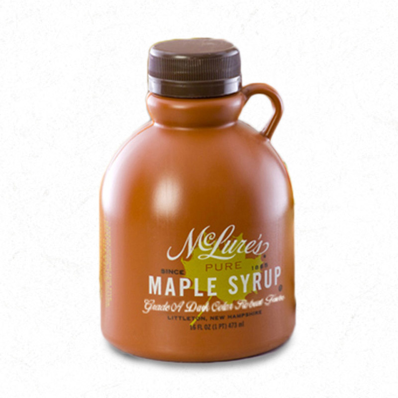 Dark Color Robust Taste Maple Syrup 16oz