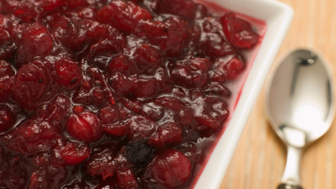 Strawberry-Cranberry Sauce